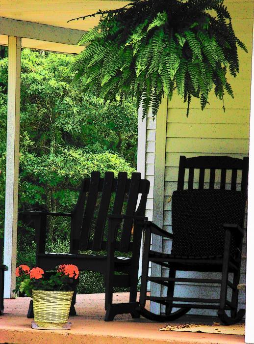 Summer Sitting Print by Joyce Kimble Smith