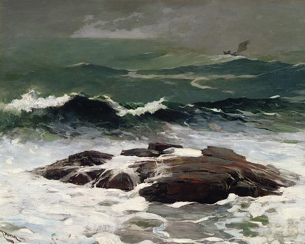 Summer Squall Print by Winslow Homer