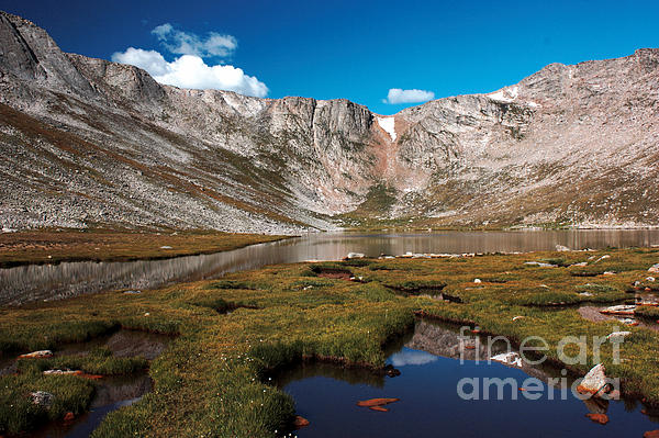 David Bearden - Summit Lake on Mount Evans