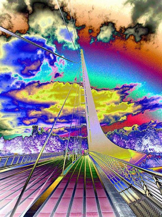 Joyce Dickens - Sun Dial Bridge Redding CA