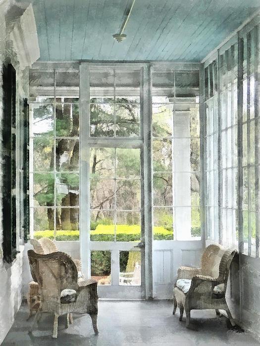 Sun Porch Print by Susan Savad