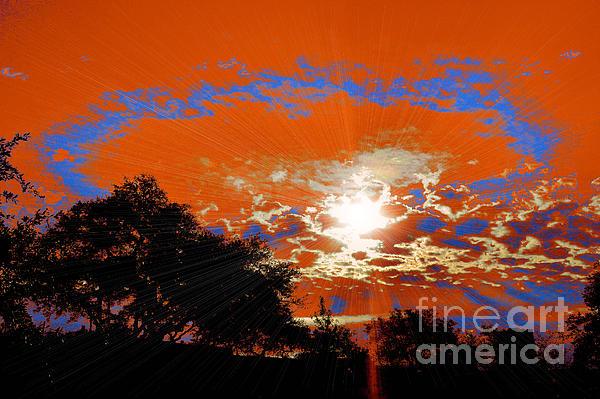 Sunburst Print by RJ Aguilar