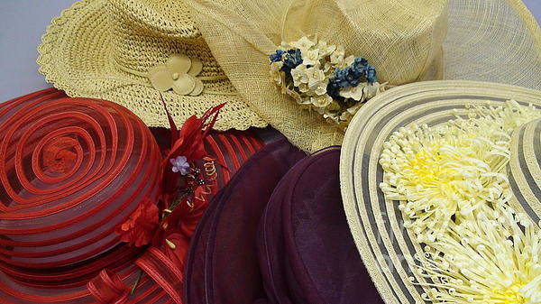Angela Robeson - Sunday Hats
