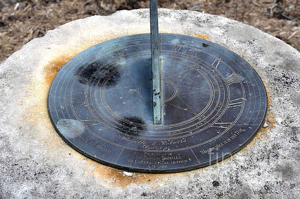 Sundial Print by Joanne Kocwin