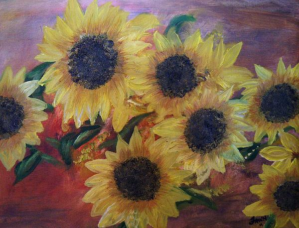 Fawn Whelahan - Sunflowers