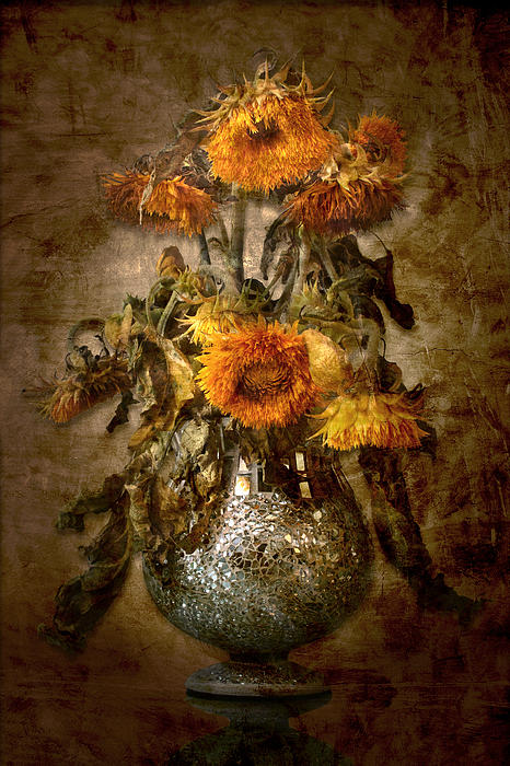 Sunflowers Print by Marc Huebner
