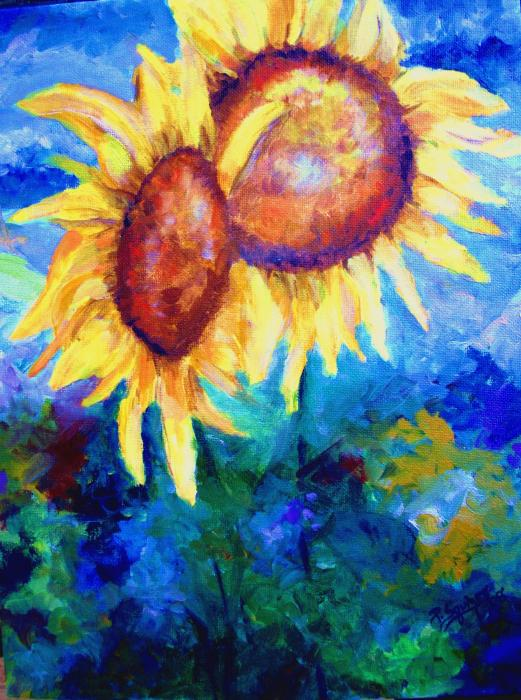 Pamela  Squires - Sunflowers
