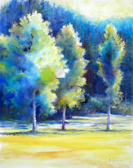 Bonnie Goedecke - Sunlit trees