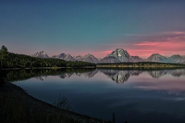 Sunrise At Lake Print by Gemma