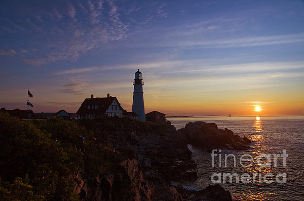 Tim Mulina - Sunrise at Portland Head Light