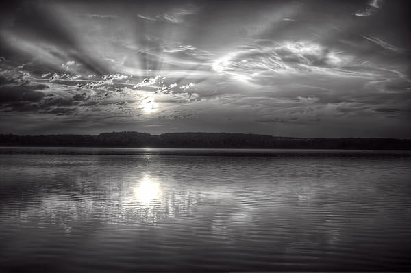 Gary Smith - Sunrise in Black and White