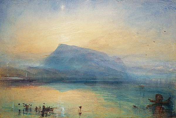 Sunrise Print by Joseph Mallord William Turner