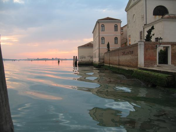 Sunrise On Isola Di San Clemente Venice Photograph