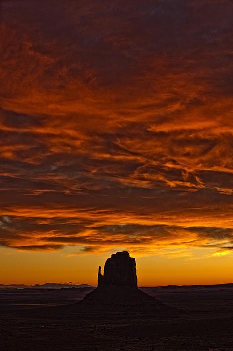 Sunrise Over Monument Valley, Arizona Print by Robert Postma
