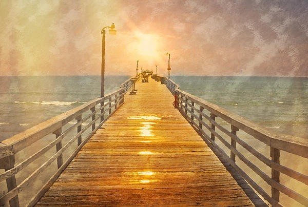 Kathy Jennings - Sunrise Pier