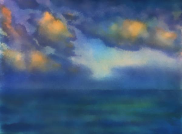 Sunset 2 Print by Valeriy Mavlo
