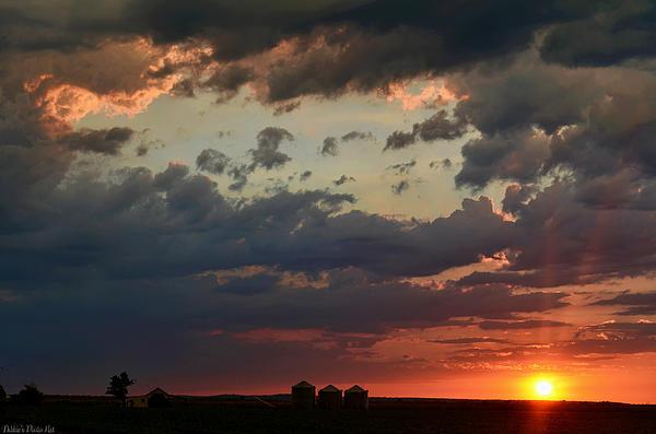 Debbie Portwood - Sunset after the thunderstorm