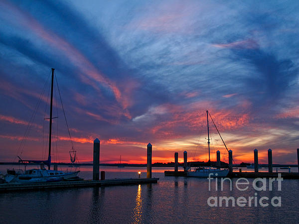 Scott Moore - Sunset at the Marina