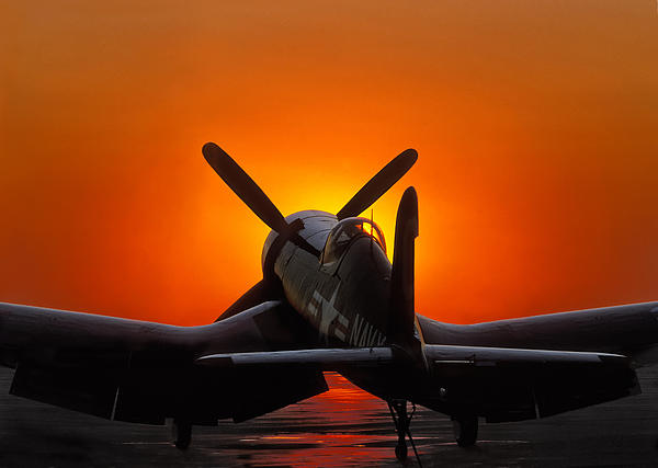 Paul Leverington - Sunset Corsair