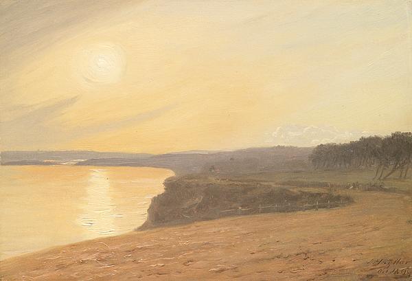 Sunset Print by James Hallyar