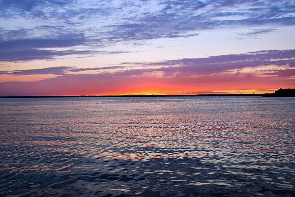 Angie Tirado - Sunset On Barnegat Bay I - Jersey Shore