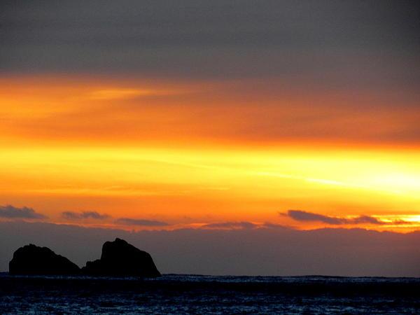 Joyce Woodhouse - Sunset on Doutful Sound