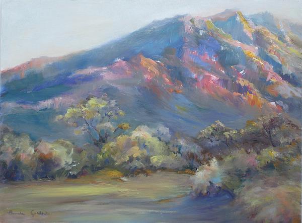 Bonnie Goedecke - Sunset On The Mountains