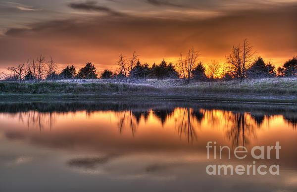 Art Whitton - Sunset over Bryzn