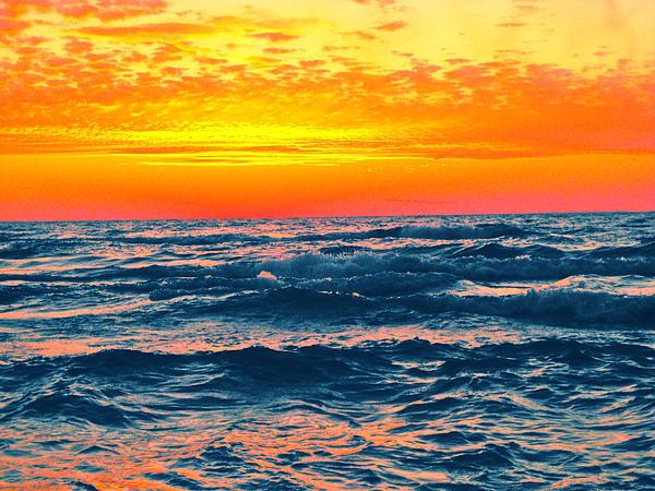 Craig Runt - Sunset Over Lake Michigan