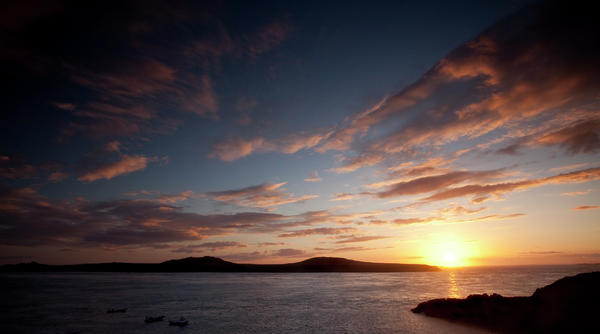 Sunset Over Ramsey Island Photograph  - Sunset Over Ramsey Island Fine Art Print