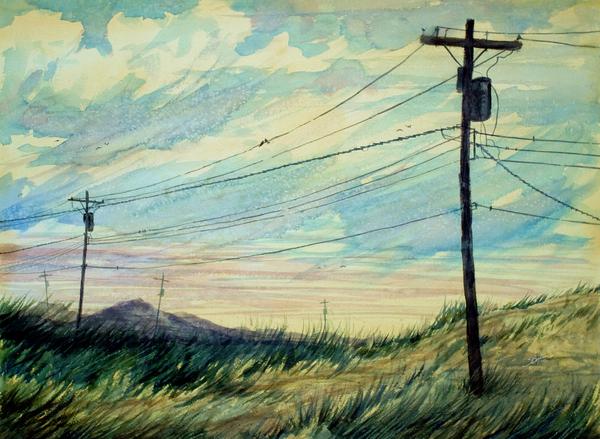 Sunset Print by Stephen Boyle
