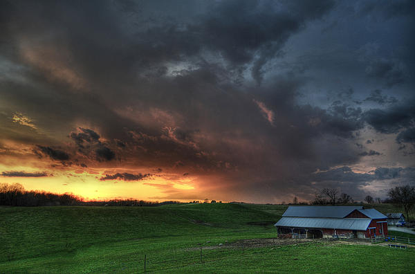 Brian Stevens - Sunset storm