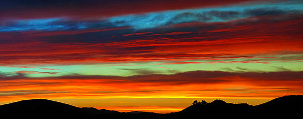 Lynn Bauer - Sunset Stripes Pano