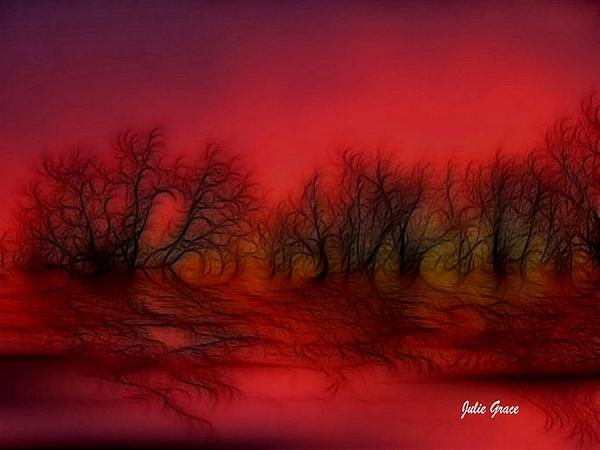 Julie  Grace - Sunset Trees
