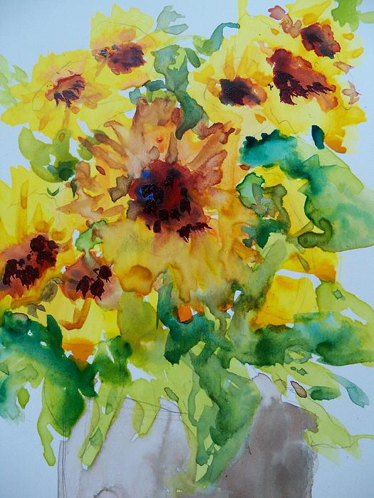 Sunshine Bright Print by Sandy Collier