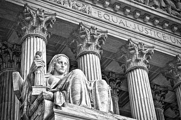 Supreme Court Building 17 Print by Val Black Russian Tourchin