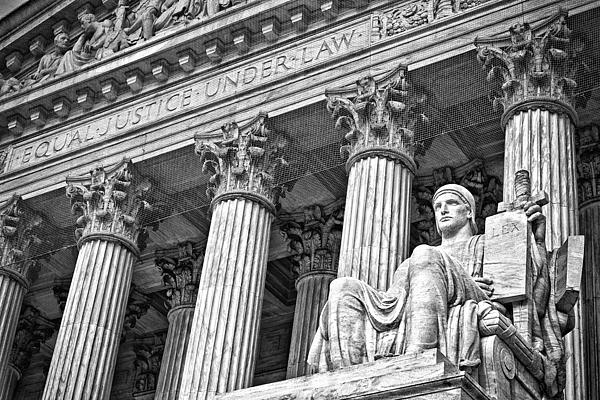Supreme Court Building 18 Print by Val Black Russian Tourchin