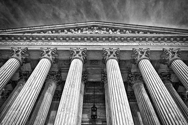 Supreme Court Building 9 Print by Val Black Russian Tourchin