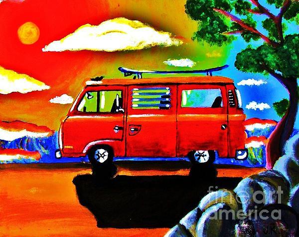 Jeffrey Kyker - Surf Bus