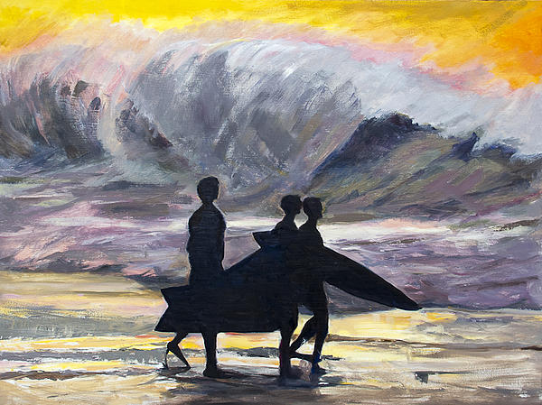 Joyce Snyder - Surf Riders