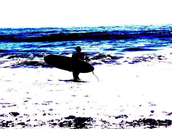 Surf Painting  - Surf Fine Art Print