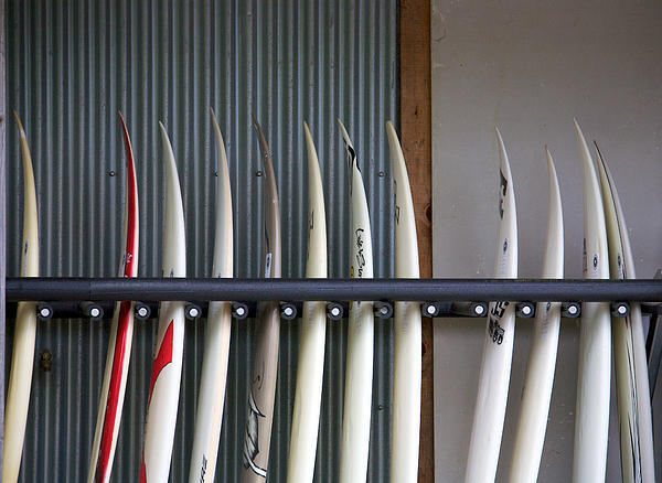 Surfboards Print by Ivan SABO