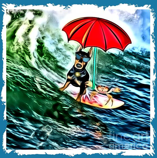 Tisha McGee - Surfer Dude with Shades