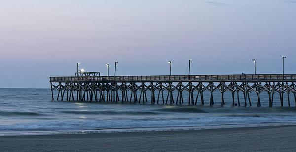 Teresa Mucha - Surfside Beach Pier at Dawn