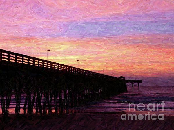 Al Powell Photography USA - Surfside Sunrise - Digital Art