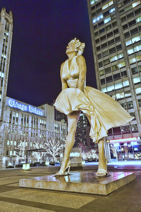 Sven Brogren - Surreal Marilyn Monroe in Chicago