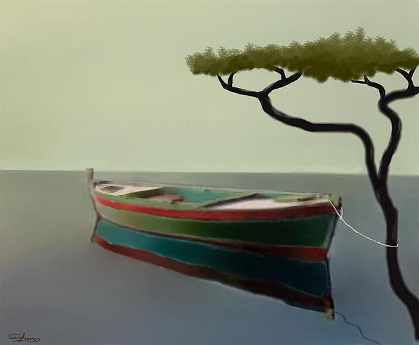 Surreal Sea Print by Larry Cirigliano