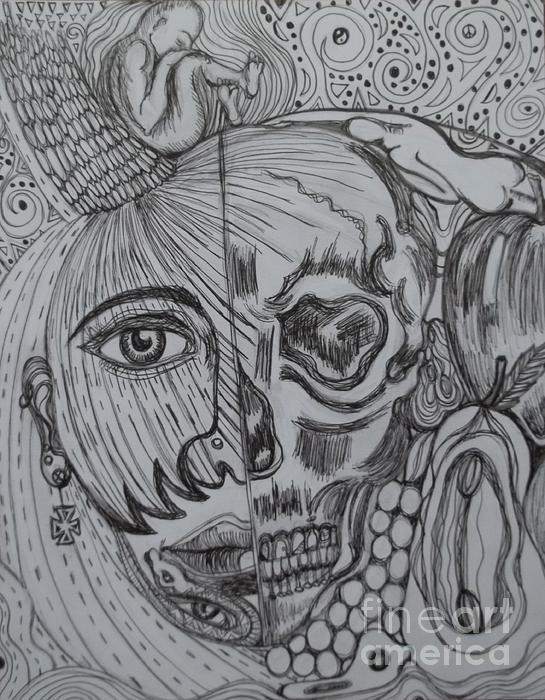 Swallowed Pride Print by Anita Wexler