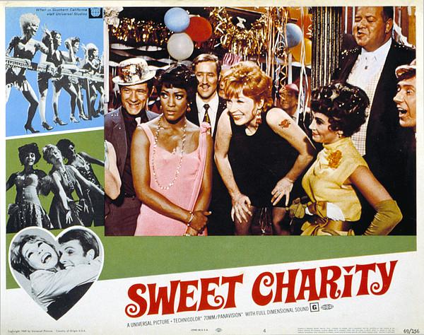 Sweet Charity, Paula Kelly, Shirley Print by Everett