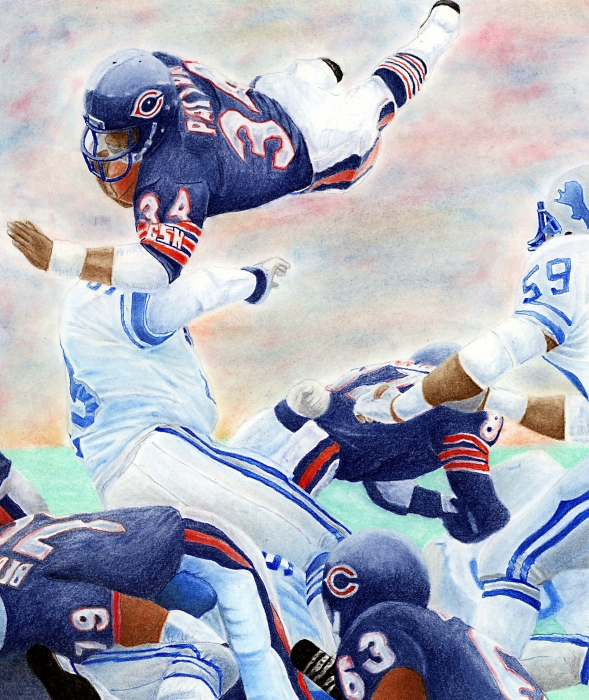 Sweetness Over The Top Print by Lyle Brown
